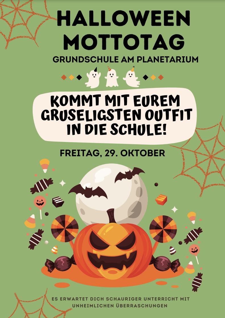 Halloween-Mottotag